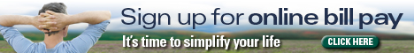 sign up for online bill pay its time to simplify your life click here